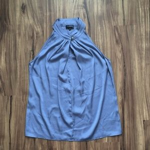 Sleeveless blue blouse - The Limited size S